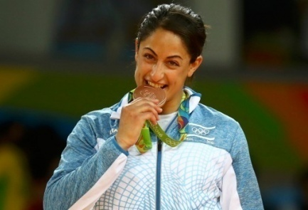 Olympian judoka Yarden Gerbi |Photo credit: Reuters