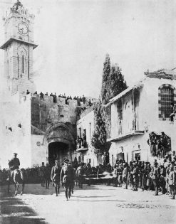 Allenby enters Jerusalem 1917