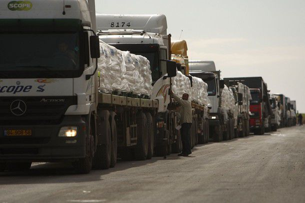Humanitarian Aid Allowed Into Southern Gaza