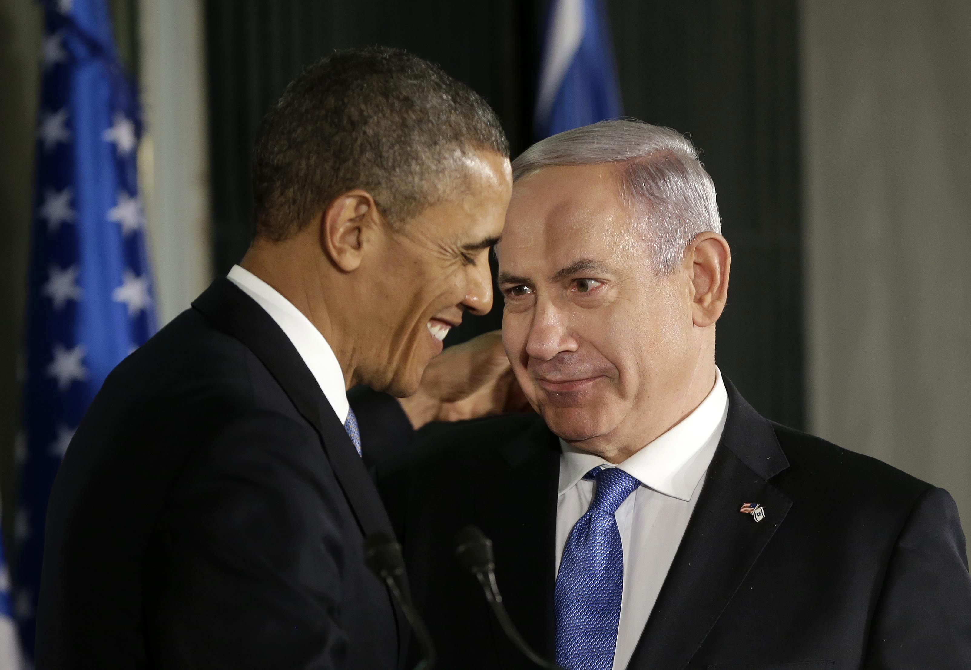 Image: Barack Obama, Benjamin Netanyahu